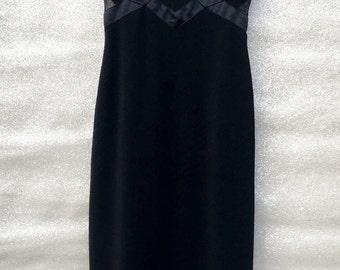 Prismatic Sheer Cutout Dress