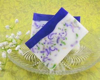 Shady Lady Violet Soap Made With Shea Butter - Glycerin Soap - Handmade Soap - Spring Scented Soap - Artisan Soap - Violet Soap - SoapGarden
