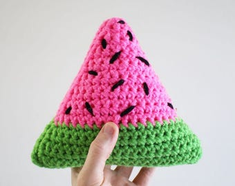 Crochet Watermelon Plush