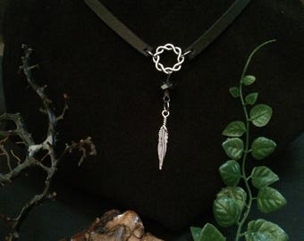 Feather Infinity Choker