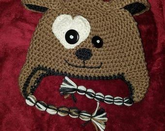Toddler Puppy Hat