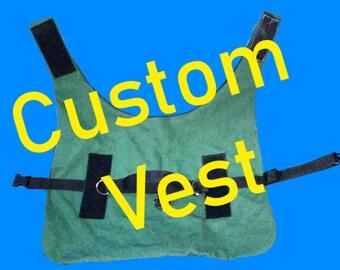 Custom Dog Vest