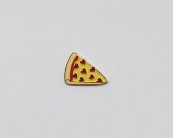 Glitter pizza pin