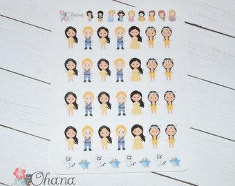 Pocahontas Planner Stickers ~ Disney Inspired | Life Planner | EC | Erin Condren | Limelife | Inkwell | Plum | Kikki | Decorative | Movie