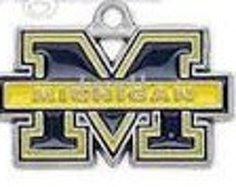 Michigan Wolverines College Charm
