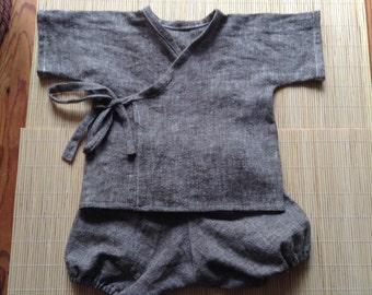 Handmade Baby Kimono set