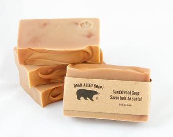 Handmade Vegan Sandalwood Soap