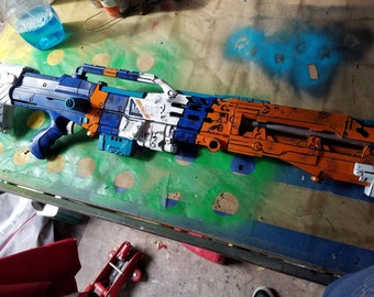 Borderlands Maliwan Sniper Rifle Inspired Nerf Gun