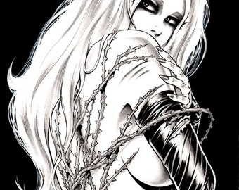 black-and-white-erotic-cartoons-sexy-gold-pants-girl