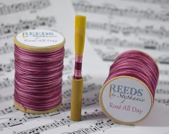 Rose All Day, Hand-Dyed Reed Thread (FF)