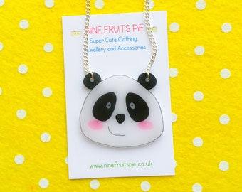 Giant Kawaii Panda necklace