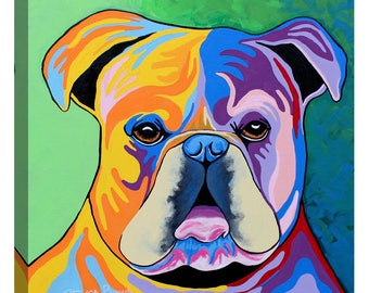 """Giclee Canvas Wall Art """"Davy McDug"""" by Steven Brown"""