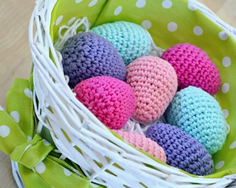 Crochet Easter Eggs, Egg Rattles, Baby Easter Gift, Crochet Eggs, Toddler Easter Gift, Easter Decorations, Baby Shower Gift, Easter Toy Baby