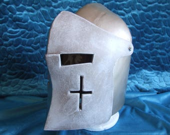 Medieval Warden Knight Helmet, For Honor Inspired Cosplay prop