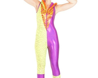 Yellow & Purple Neon Nonsense - Spacesuit
