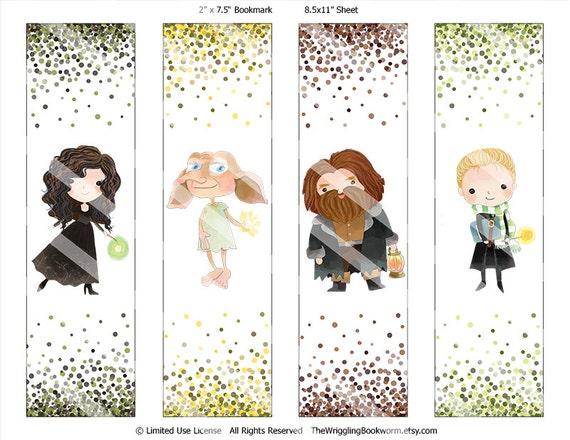 Assez Ensemble de marque-page imprimable Harry Potter Bellatrix TK07