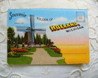 Holland,    Michigan Postcard Folder