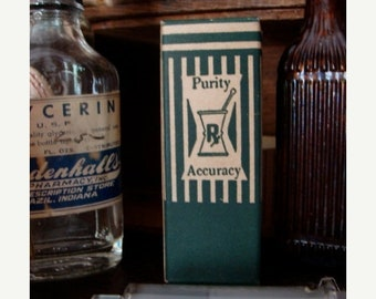 ONSALE Antique Medical Rx  Original Box