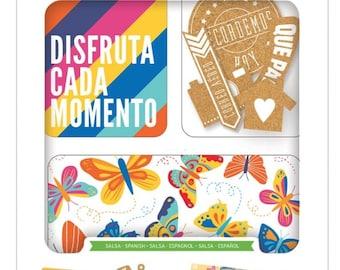 Project Life SALSA Spanish Value Kit 147pc Pocket Page Becky Higgins Scrapbook Planner