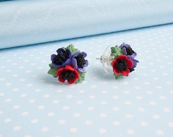 Anemone Stud Earring