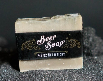 Beer Soap with Whisky Scent