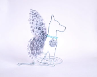 Great Dane Pet Memorial - Great Dane Memorial - Gift for a Pet Lover - Great Dane ornament - Rainbow Bridge - Pet Loss Gift