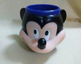 Vintage Disney Mickey Mouse child's collectible mug cup