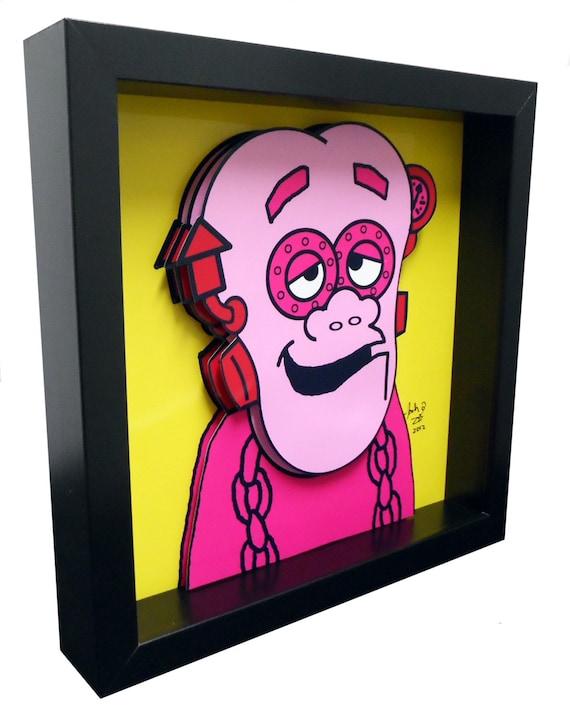 Frankenberry Cereal Box Art Funny Kitchen Art Print
