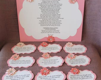Baby Shower Gift Basket Poem ~ Fun wedding gifts funny ring bearer signs gift picture frame