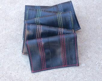 Slim Wallet - Mens Upcycled Wallet - Recycled Inner Tube Wallet