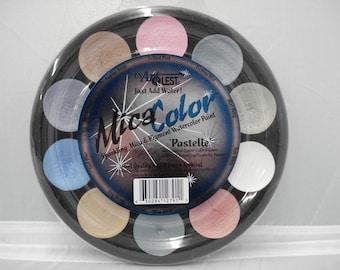Mica Sparkling Watercolor Paints PASTELLES by USArtQuest