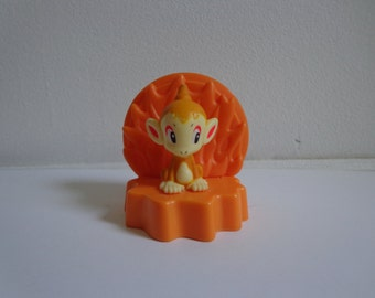 Pokemon Collectible Chimchar Burger King Kids Meal Toy Novelty Cake Topper Decoration Card Holder Anime Cartoon Character Figure