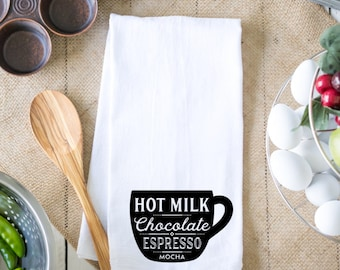 KITCHEN TOWEL, Coffee Mocha Towel
