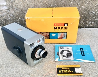 Vintage Kodak Brownie 8 Movie Camera