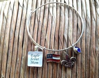 Eagle Scout Mom Bracelet