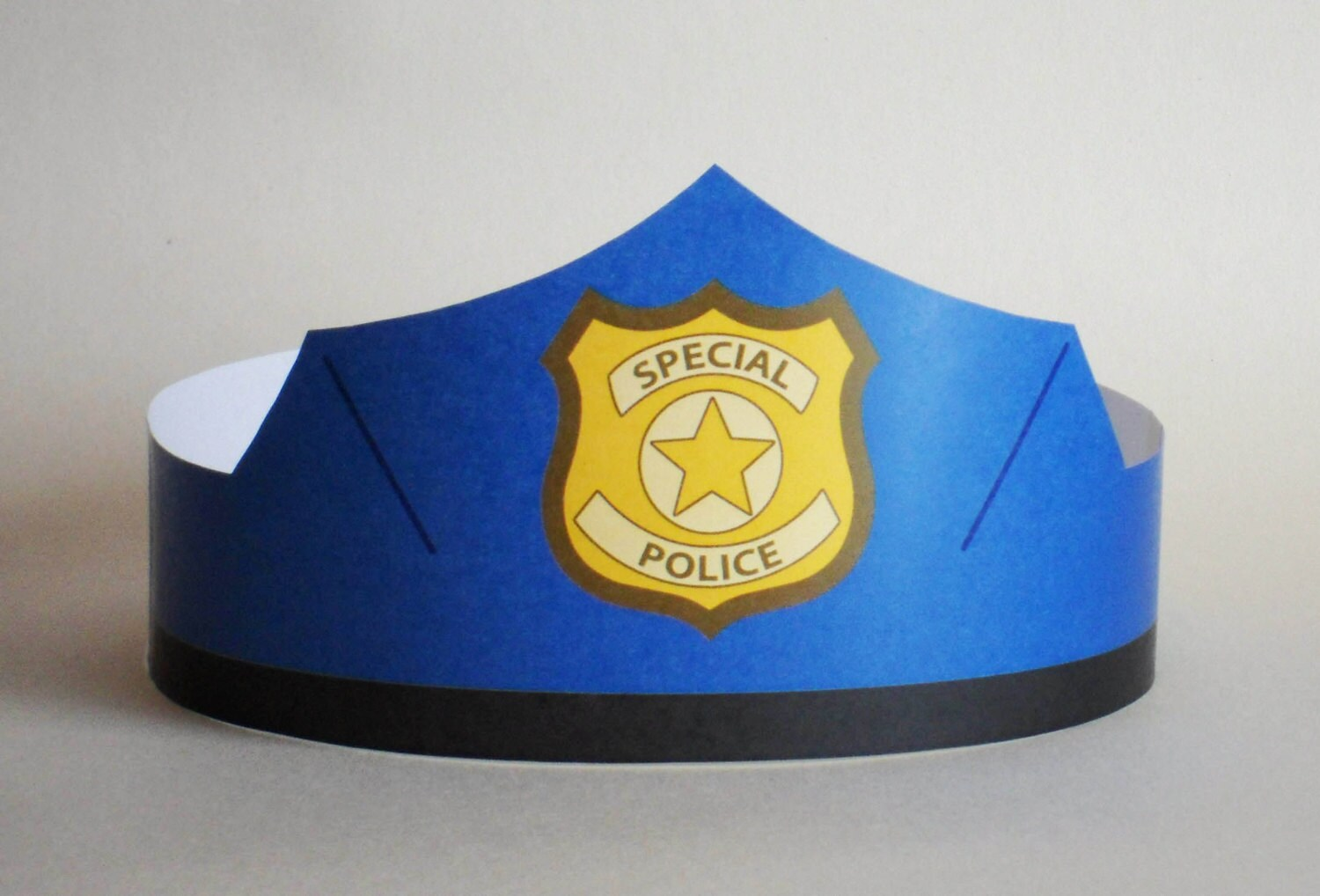Beautiful Police Hat Template Mold - Resume Template ...
