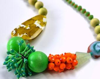 Clover & Marigold Chunky Necklace