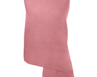 Pink Blush Handmade 100% Pure Cashmere Shawl Wrap Scarf - Pashminas and Wraps - Also available In 36 Other Colours