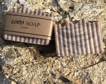 Coconut -  Handmade Cold Processed Soap