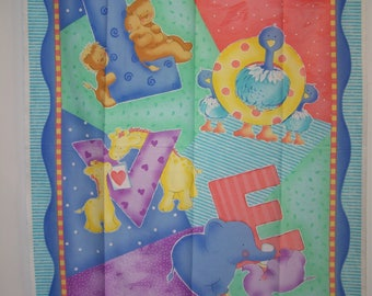 Baby Love With Coordianting Fabric