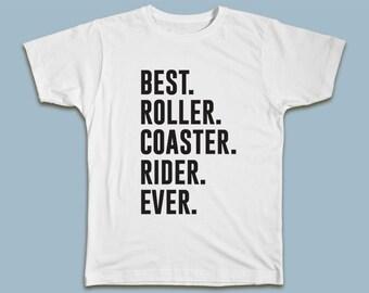 BEST Roller Coaster Rider EVER T-shirt