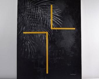 Ash Wednesday Painting / Fine Art, Lent Art, Religious Art, Original Painting, Wall Art, Canvas Art, Acrylic