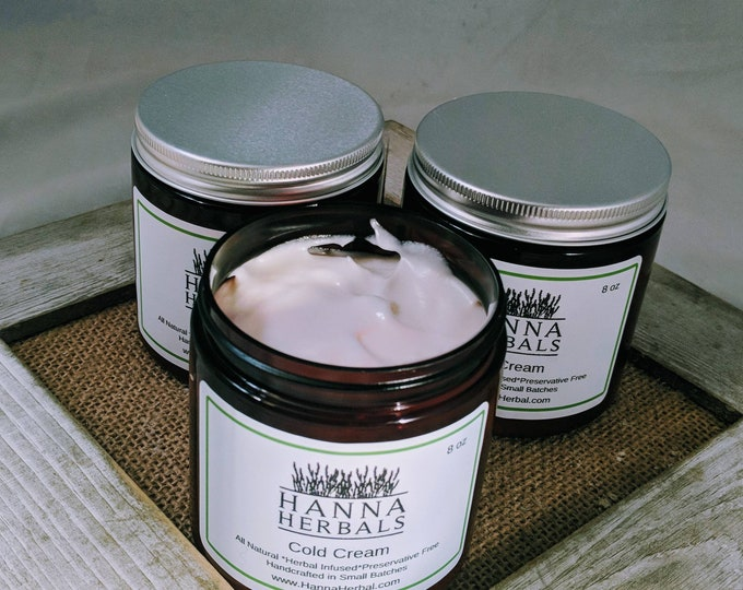 Featured listing image: Cold cream - 8 ounces