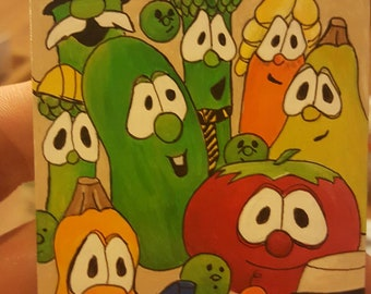 MTG alter Explosive Vegetation, Veggie Tales