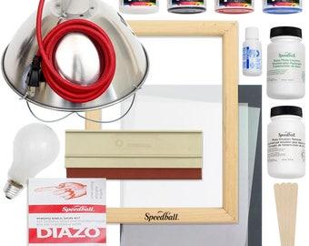 Emulsion Screen Printing Bundle from Speedball Art