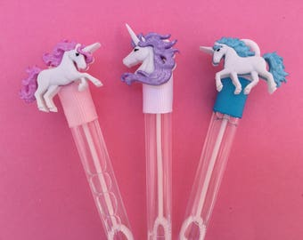 Unicorn Favor, Unicorn Bubble Favor, Unicorn Party Favor, Unicorn Theme Party Supplies