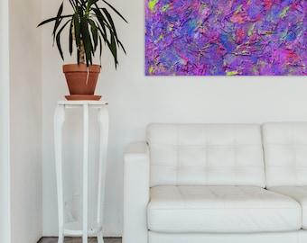 "NEW! Pamela Rys - Glitterati : 16"" x 24"" - 40 x 60 cm - textured painting - contemporary painting - original fine art painting by Pamela Rys"