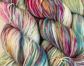 Amanita Muscaria - 425 - UK Hand Dyed Yarn