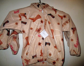 Size 4 Yee Haw Fleece Jacket