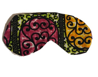 Ankara Eye Mask